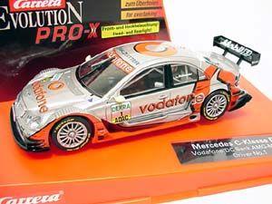 2004: Carrera PRO-X Mercedes C-Klasse DTM Vodafone/DC Bank No.1