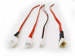 Steckverbinder mit Kabel für Motor, Schleifer, Beleuchtung usw.