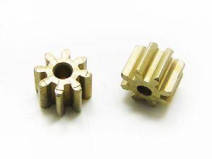 Motorritzel für Minimotor aus Messing D132/EVO 8 Zähne 2 Stück