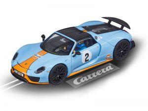 2017: Carrera D132 Porsche 918 Spyder Gulf Racing No. 02
