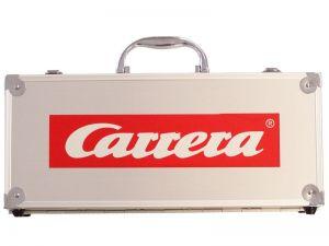 Carrera EVO/Digtal132 Fahrzeugkoffer Aluminium klein 4 Autos