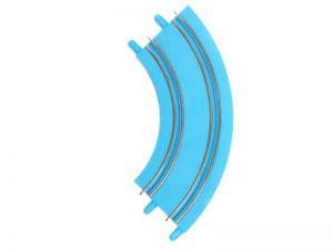 Carrera FIRST Kurve 90 Grad blau, 2 Stück, 4 Stück oder 6 Stück