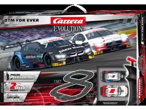 2021: Carrera Evolution DTM For Ever mit Licht - 6,3m