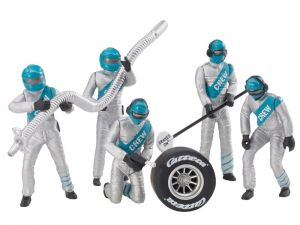 Carrera Figurensatz Mechaniker silber