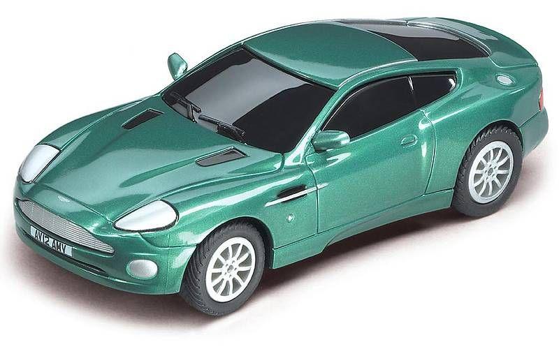 2003 Carrera Go Aston Martin Vanquish British Racing Green