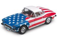 2003 CarrerEXCL Chevrolet Vorvette Conv. 1962 Stars and Stripes