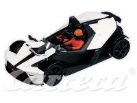 2008: Carrera EVO KTM X-Bow weiß/schwarz