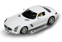 2010: Carrera D132 Mercedes SLS AMG Coupe weiss
