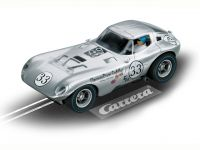 2010: Carrera D124 Cheetah No. 33, 1966 silber