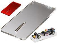 Aufstell- und Montageplatte 1:32 80 x 170mm transp. u. farbig