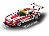 Neu 2013: Carrera EVO Mercedes-Benz SLS AMG GT3 Black Falcon No.