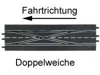 Carrera Digital 124/132 Ausbauset Doppelweiche Spurwechselkurve