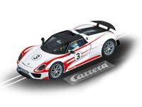 2015: Carrera D132 Porsche 918 Spyder No. 03 weiß/rot
