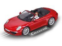 2016: Carrera D132 Porsche 911 Carrera S Cabriolet rot