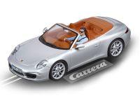 2016: Carrera D132 Porsche 911 Carrera S Cabriolet silber