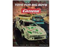 Carrera großes mehrfarbiges Blechschild 50 x 40 cm Retro Plate 2!