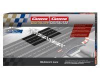 Carrera Digital 124/132 Multistart Lane für mehrspurigen Ausbau der Digitalbahn