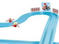 Carrera FIRST Kreisel und Leitplanken Mario Kart