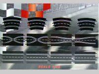 Carrera D124/D132/EVO AUSBAUSET mit 4 Standardgeraden, 2 Spurwechseln, 1 Engstelle und 4 Kurven 2/30